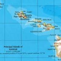 localisation du lieu de vie des bernaches d' hawaï